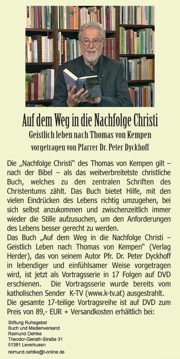 peter dyckhoff exerzitien